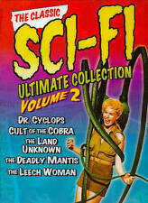 THE CLASSIC SCI-FI ULTIMATE COLLECTION VOLUME 2 DVD 3-DISC SET DR. CYCLOPS NEW