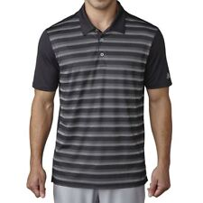 2017 Adidas Climacool UPF Mens Golf Polo Shirt with 3-Button Placket