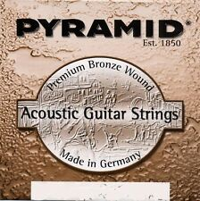 PYRAMID Acoustic Guitar Premium Bronze Strings SET Acoustic Guitar Strings SET