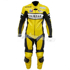 YAMAHA Motorcycle Leather Suit Motorbike Leather Suit Racing suit Riding Suit