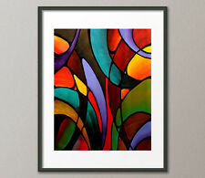 Gallery Canvas & Fine Art Prints Abbey Abstract Contemporary Painting Modern