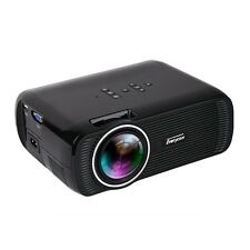 Mini Projector 1800 Lumen LED Home Theater Full Hd 1080p Hdmi LCD 3D Beamer New