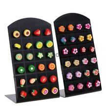 12 Pairs Multi-color Polymer Clay Women Ear Stud Earrings Fruit Flower Jewelry