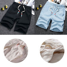 Mens Casual Shorts Cotton Joggers Shorts Fashion Men's Shorts Beach Shorts 1Pcs