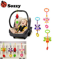 Sozzy Baby Ratlle Baby Hanging Wind Chimes Ringing Baby Hand Bell Toy Plush Toy