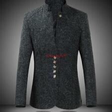 Mens Tang tunic suit stand collar jacket Chinese style coat outwears tops coat