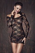 Lynette black Erotic Nightwear Wedding Negligee Baby Doll Sexy Lingerie