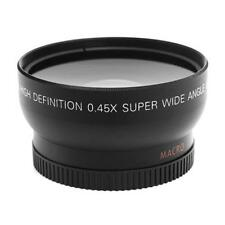 52mm 0.45X Fisheye Wide Angle Macro Lens for Nikon D3200 D3100 D5200 D5100 KJ