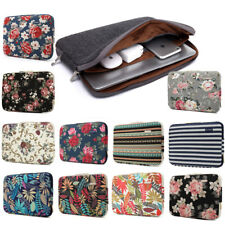 Computer Notebook Sleeve Pouch Canvas Laptop Cover Case Bag 11 13 14 15 17 inch
