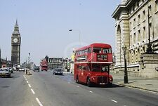 PHOTO London Transport AEC Routemaster RM457 WLT457 in 1982 at Westminster