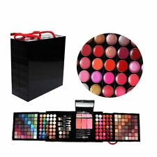 Pro 177 Color Eyeshadow Palette Blush Lip Gloss Makeup Beauty Cosmetic Set Kit G