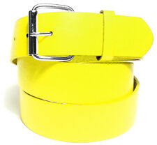 BENDER BELT ● Yellow Golf Belt - BONDED LEATHER | REMOVEABLE BUCKLE