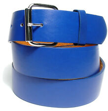 BENDER BELT ● Blue Golf Belt - BONDED LEATHER | REMOVEABLE BUCKLE