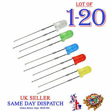 3mm Ultra Bright Diffused LEDs Diode Red Blue Green Yellow White