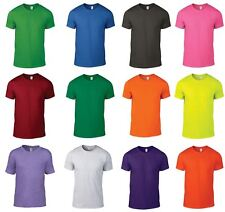 Anvil Men's Fashion Casual Basic Tee Shirt (980)Plain Semi-Fitted TShirt (AV105)