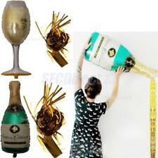 "40"" Wine Bottle Champagne Glass Big Foil Balloon Helium Wedding Christmas Party"