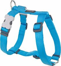 Red Dingo Plain TURQUOISE Harness for Dog or Puppy | Sizes XS - LG | FREE P&P