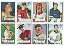 2007 Topps 52 Complete Team Set 26 Available Rookie Card Logo RC 1952 No SP 07