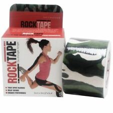RockTape Green Camouflage 5cm x 5m 1 Roll 1 2 3 6 12 Packs