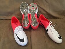 NEW Nike Mercurial Vapor VIII 8 FG Soccer Football Cleats White Red 509136-106