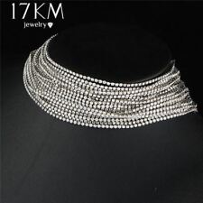 Multilayers Rhinestone Crystal Decorative New Choker Necklace For Women