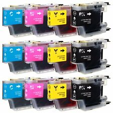 12 Pack Ink Cartridge LC71 LC75 For Brother MFC-J435W J430W MFC-J625DW J825DW