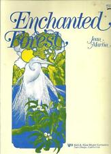 ENCHANTED FOREST ~ JEAN MARTIN ~ NEIL A. KJOS MUSIC COMPANY ~ VTG 1986 SONGBOOK