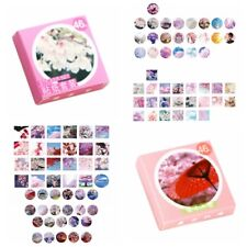 46pcs/ box Romantic Sakura and Love of flowers stickers decoration DIY stickers