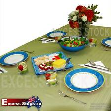 Tablecloth in Blue Gold Green Red or White Toledo Fine Dining Tablecloth