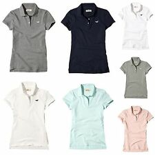 Nwt Hollister By Abercrombie Women's Polo Shirt T Shirt