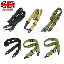 Tactical Mission MS2&3 Adjustable Multi-Point Airsoft / Paintball Sling UK FAST