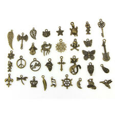 Wholesale Retro Style 50 Pcs Bulk Lots Mix Cute Charm Pendants Jewelry DIY