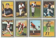 2005 Topps Turkey Red Complete Team Set 13 Available Rookie RC No SP/Shortprint