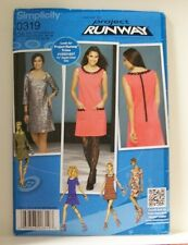 0319 2648 3506 5463 SIMPLICITY SEWING PATTERN PROJECT RUNWAY MISSES PETITE DRESS