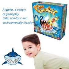 New Facebook Shark Board Game Shark Bite Game Family Party Fun Fish Trouille GH