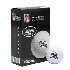 Wilson Team Logo New York Jets NFL Golf Balls- *Pack of 6*