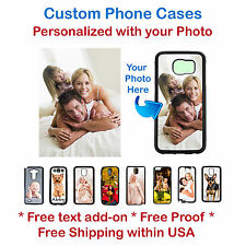 Custom Phone Cases Personalized w/ your photo selfie for iPhone Samsung HTC LG