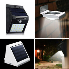 Super Lit Solar Motion LED Sensor Wall Light Security Outdoor Patio Garden Lamp