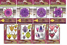 NEW 2017 Sheena Create A Flower Dies & Stamps Die'sire Crafters Companion