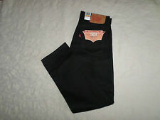 LEVI'S 501 ORIGINAL FIT RIGID JEANS MENS SIZE 33X32 SHRINK TO FIT BUTTON FLY NWT