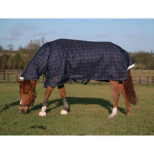 MARK TODD 350G HEAVY HEAVYWEIGHT TEFLON COATED COMBO ATTACHED NECK TURNOUT RUG