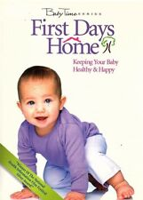 First Days Home (DVD, Educational, Keeping Your Baby Healthy and Happy, 2002)