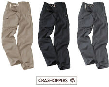Craghoppers Classic Kiwi Mens Cargo Walking Hiking Action Trousers w/belt