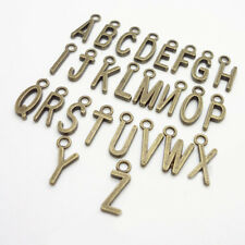 Sales 26Pcs Antique A-Z Letters Metal Charms DIY Jewelry Findings Accessories