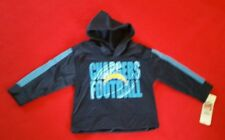 NWT LOS ANGELES CHARGERS PULLOVER HOODIE TODDLER BOYS  SZ 2T