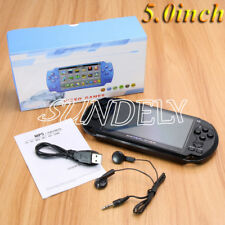 """X9 Rechargeable 5.0"""" 8G 64 bit Handheld Video Game Console MP4/MP5 Player Camera"""