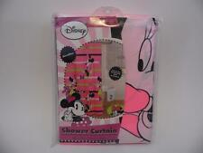 DISNEY Minnie Mouse Shower Curtain LOVE Microfiber Neon Pink J Franco & Sons NEW
