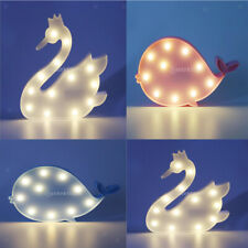 EU 3D Animal Cartoon LED Lamp Decor Night Light, Freestanding Kids Bedside Lamp
