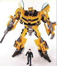 Transformers Human Alliance Bumblebee and Sam Action Figures Anime Kids Gift Toy