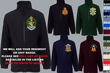 UNITS 1ST TO L  EMBROIDERED ROYAL CANADIAN ARMY NAVY AIR FORCE FLEECE JACKET